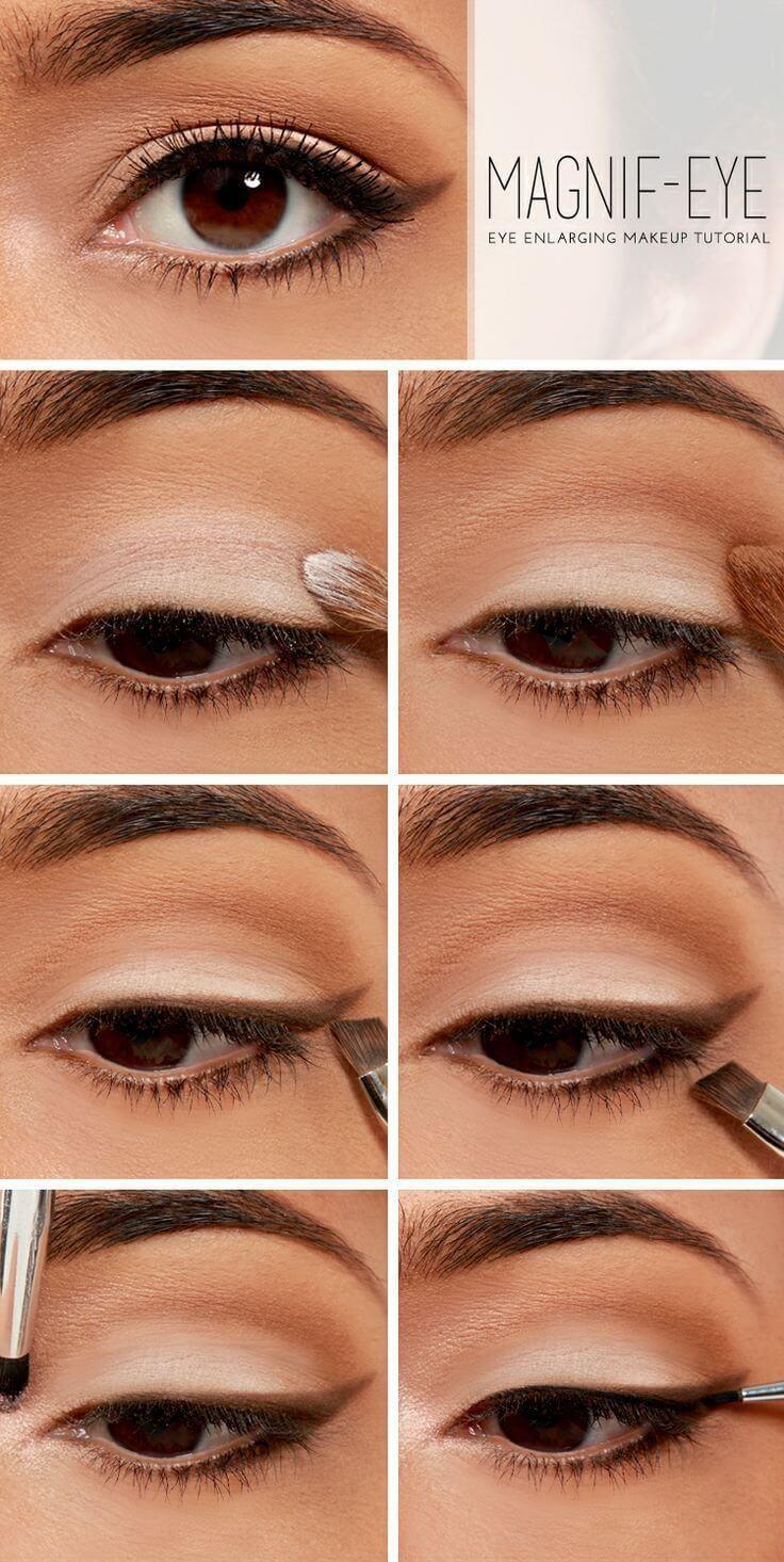 aa871a4501ecb مكياج العيون  15 طريقة سهلة لوضع المكياج بالخطوات و الصور - كيف