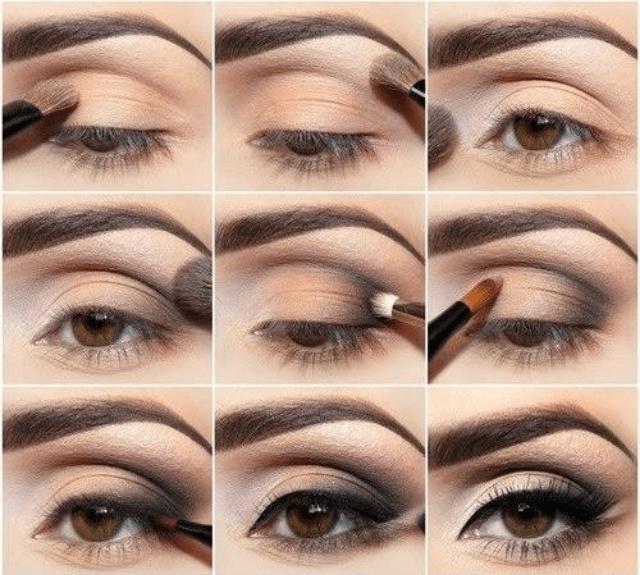 6cbc9be8d2a0c مكياج العيون  15 طريقة سهلة لوضع المكياج بالخطوات و الصور - كيف