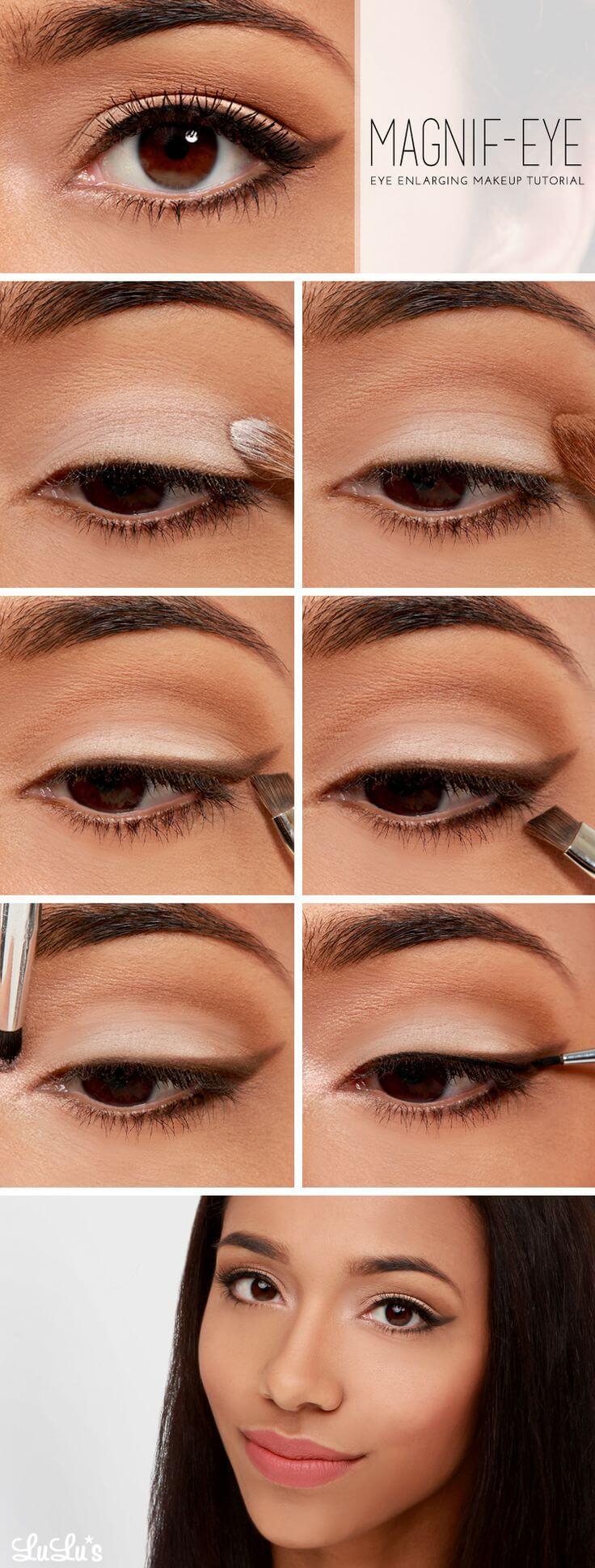782c1234cd336 مكياج العيون  15 طريقة سهلة لوضع المكياج بالخطوات و الصور - كيف