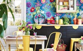 ورق الحائط : 15 فكرة غير تقليدية لاستخدام ورق الحائط في المنزل