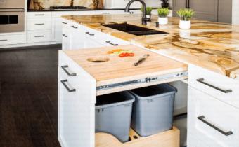 15 فكرة مبتكرة لتصميم وحدات التخزين بالمطبخ