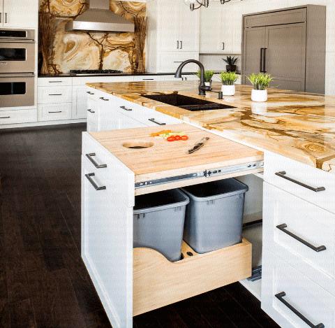 7a5558775bd1a 15 فكرة مبتكرة لتصميم وحدات التخزين بالمطبخ - كيف